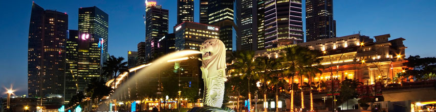 The Singapore Merlion