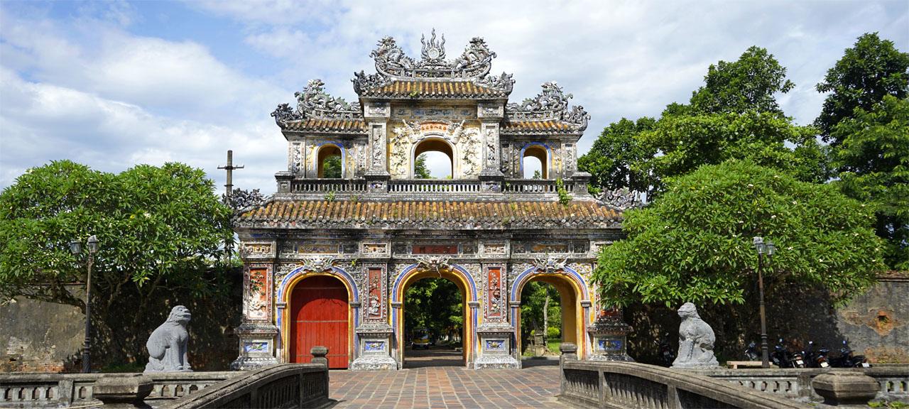 Imperial Citadel in Hue, Vietnam