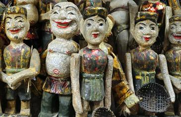 Traditional Vietnamese water puppets, Hanoi, Vietnam