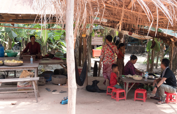 Visit a local family in Cambodia
