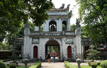 Arrive in the charming capital city of Hanoi, known for its tree-lined streets and French colonial villas