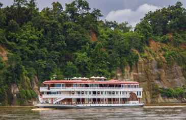 Board the majestic Anawrahta Luxury River Cruiser