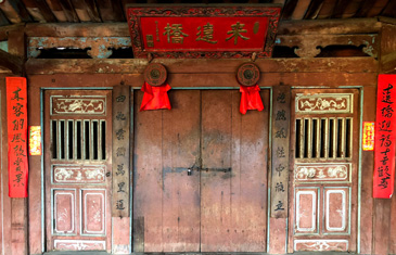 Ancient Chinese architecture in Hoi An, Vietnam
