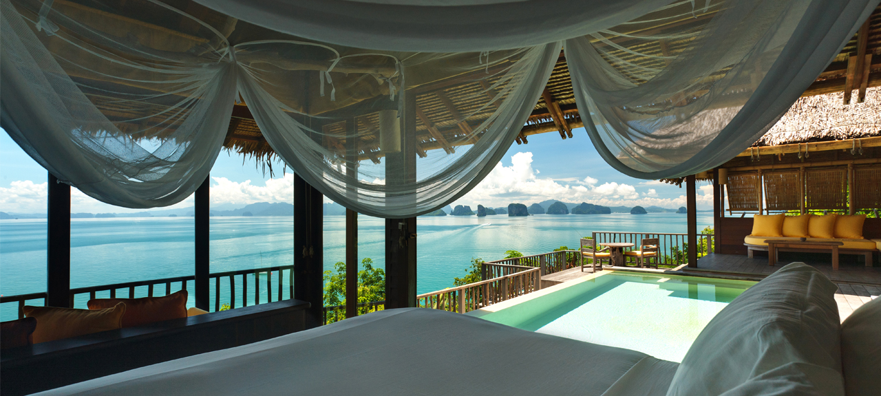 Six Senses Koh Yao Noi Sea View Villa overlooking Phang Nga Bay