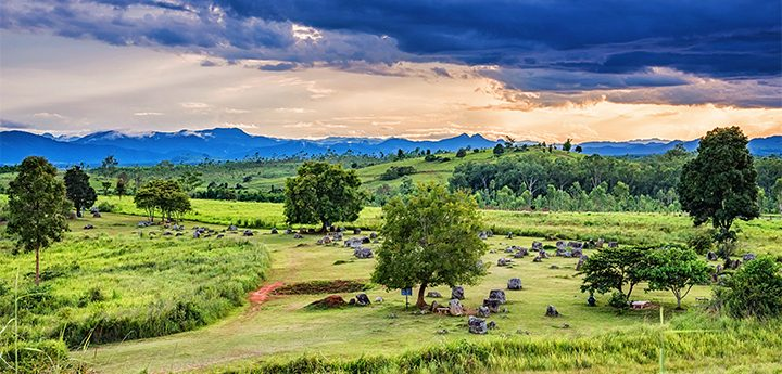 Plain of Jars a Unesco Heritage Site In Laos