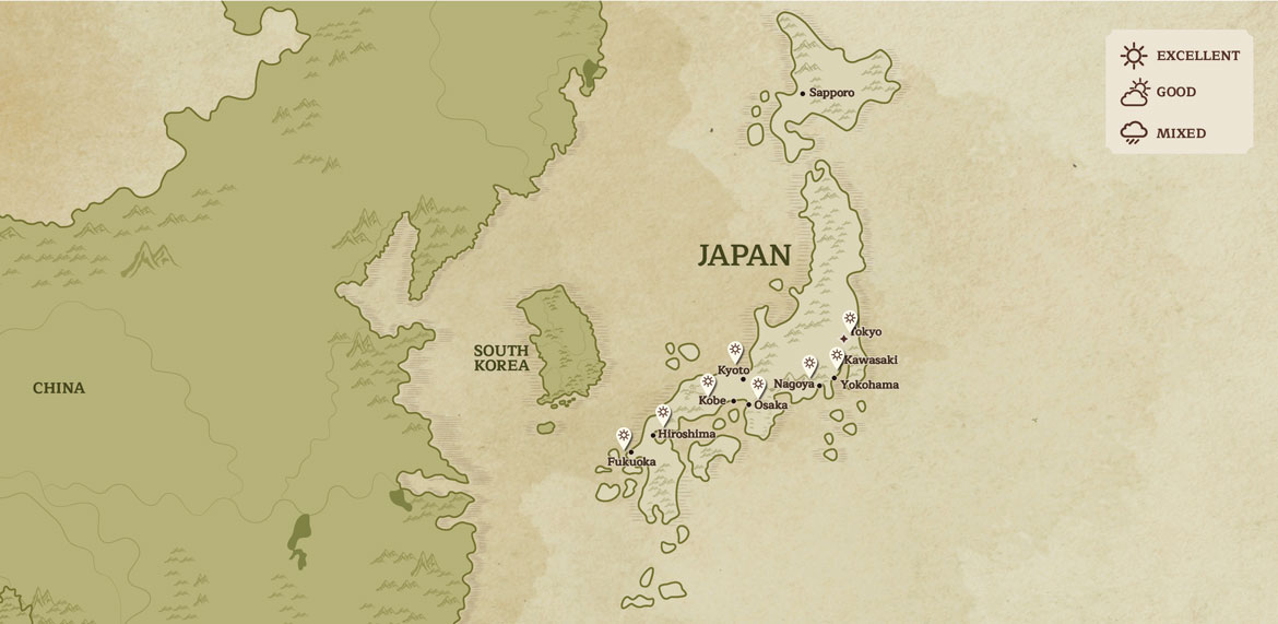 Japan When To Go April