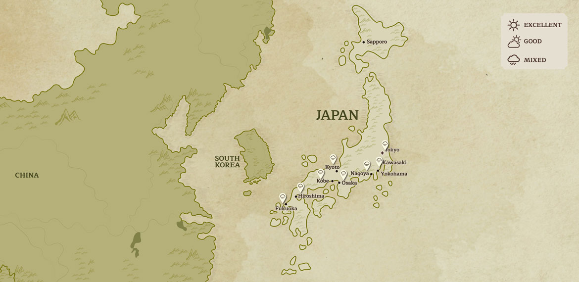 Japan When To Go June