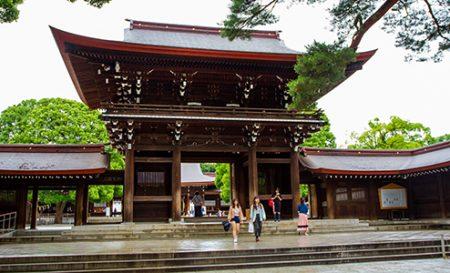 Tokyo's most revered Shinto shrine, Meiji Jingū